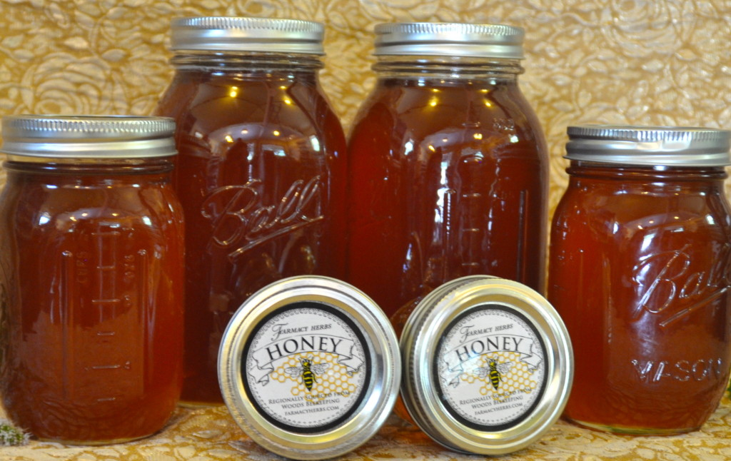 Regionally harvested honey